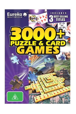 Eureka 3000+ Puzzle & Card Game - PC Games