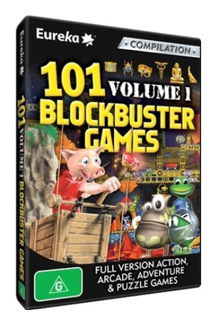 101 Blockbuster Games Volume 1 - PC Games