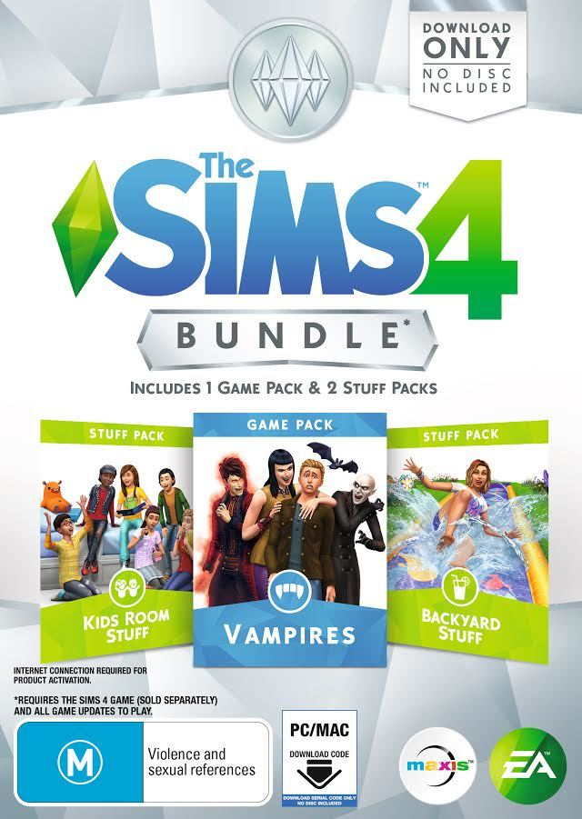 The Sims 4 Bundle Pack 7 (code in box) - PC Games