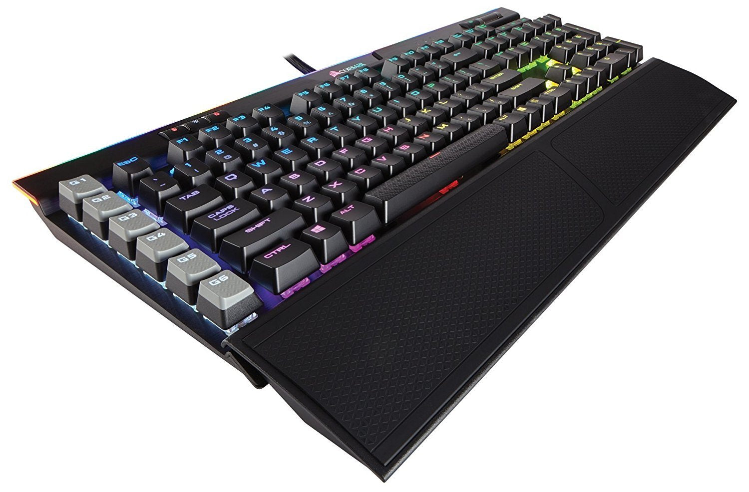 Corsair K95 RGB Platinum Gaming Keyboard (Cherry MX Brown) - PC Games