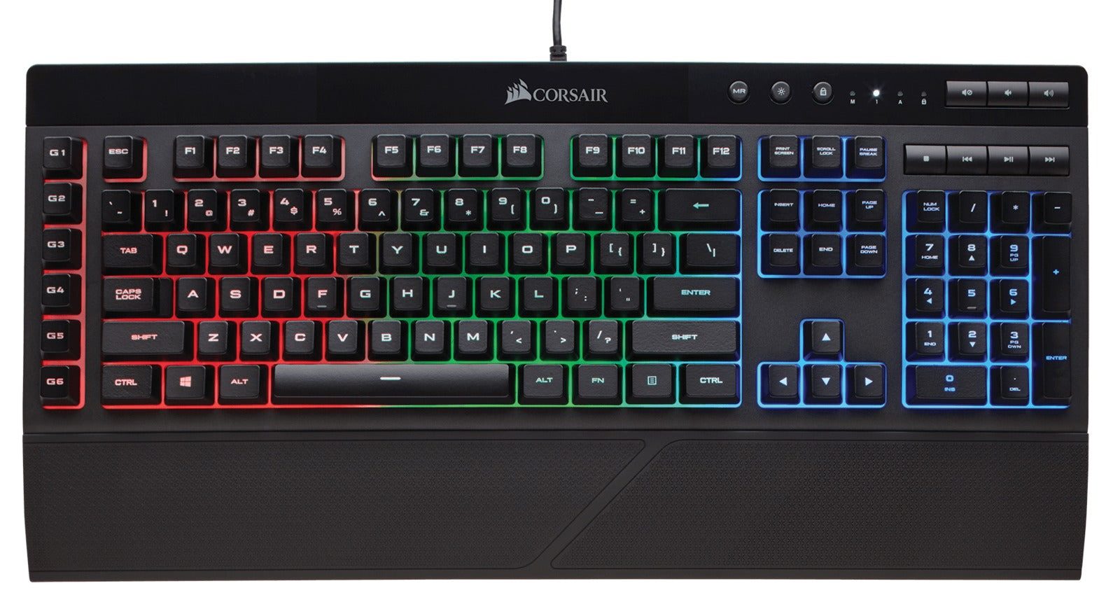 Corsair K55 RGB Gaming Keyboard - PC Games