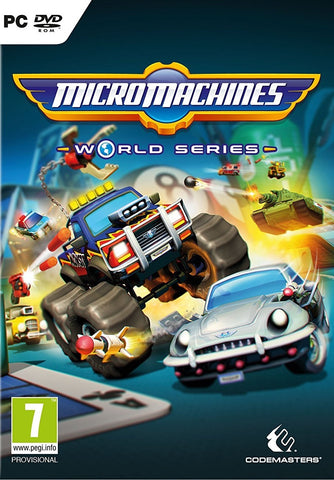 Micro Machines World Series - PC Games