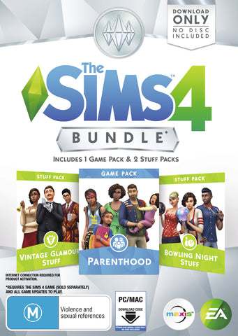 The Sims 4 Bundle Pack 9 (code in box) - PC Games