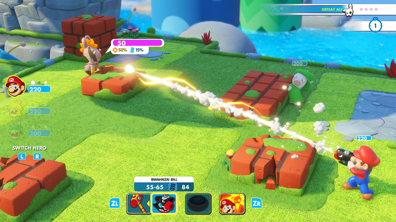 Mario + Rabbids: Kingdom Battle - Nintendo Switch