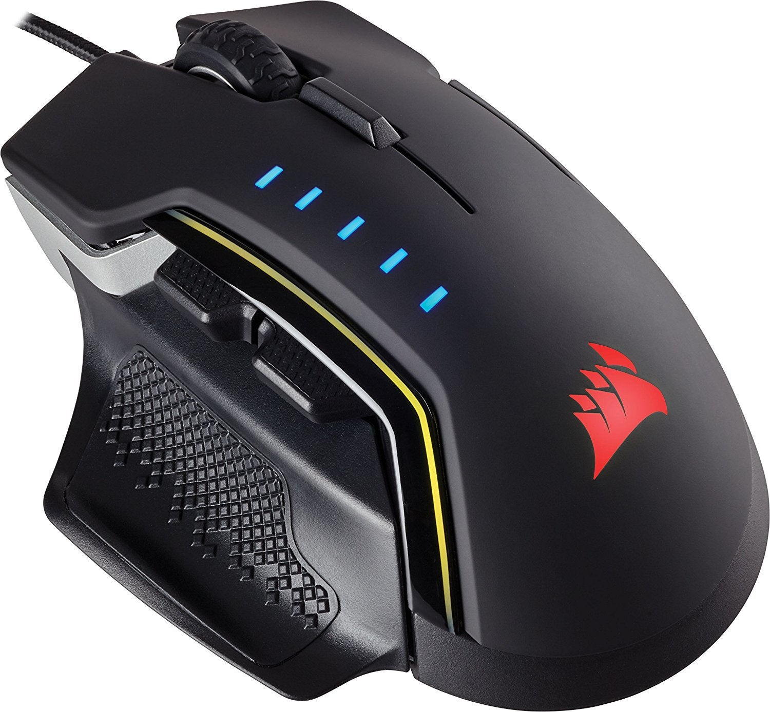 Corsair GLAIVE RGB PRO Gaming Mouse - Black - PC Games