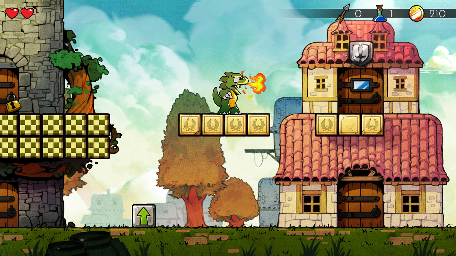 Wonder Boy: The Dragon's Trap - PS4