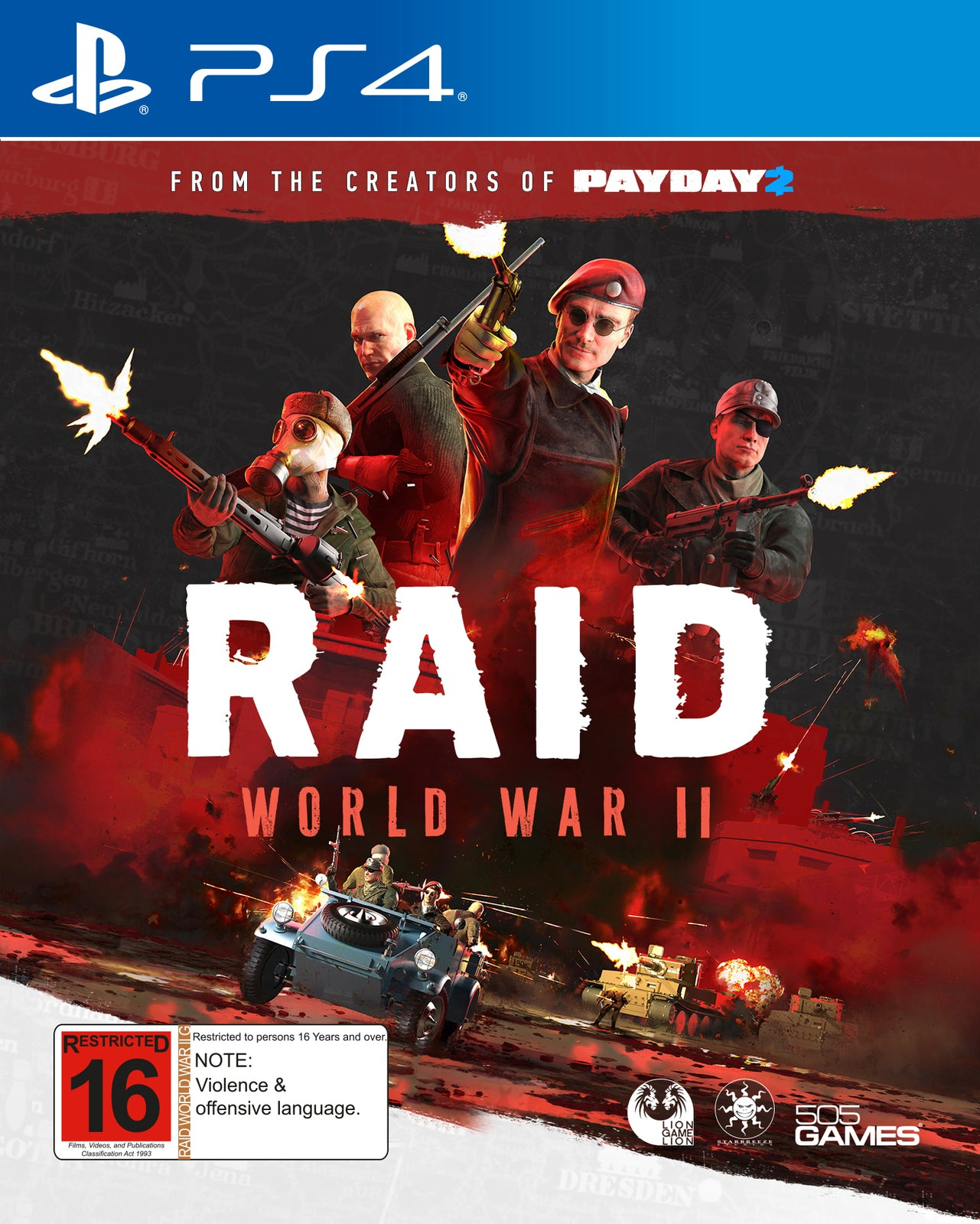 RAID: World War II - PS4