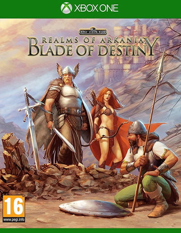 Realms Of Arkania Blade Of Destiny - Xbox One