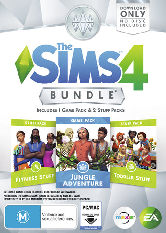 The Sims 4 Bundle Pack 11 (code in box) - PC Games