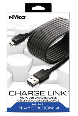 Nyko PS4 Charge Cable - PS4