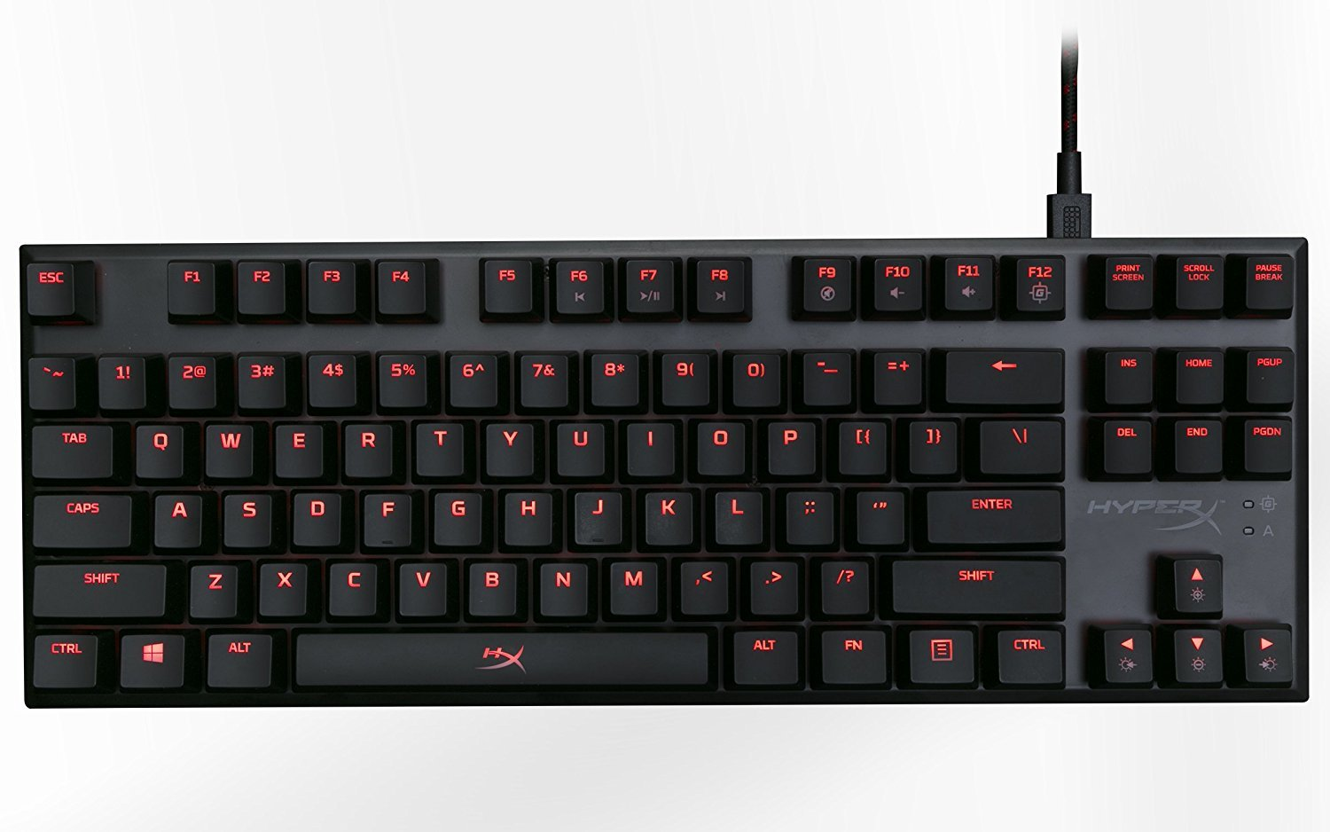 HyperX Alloy FPS Pro Mechanical Gaming Keyboard (Cherry MX Blue) - PC Games