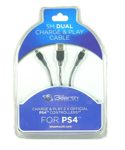 PS4 Dual Play and Charge Cable 5m - PS4