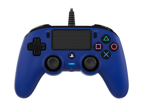 Nacon PS4 Wired Gaming Controller - Blue - PS4