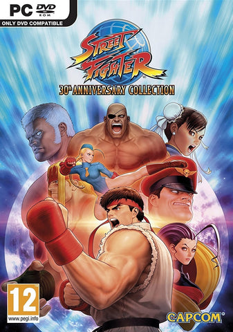 Street Fighter 30th Anniversary Collection - PC Games
