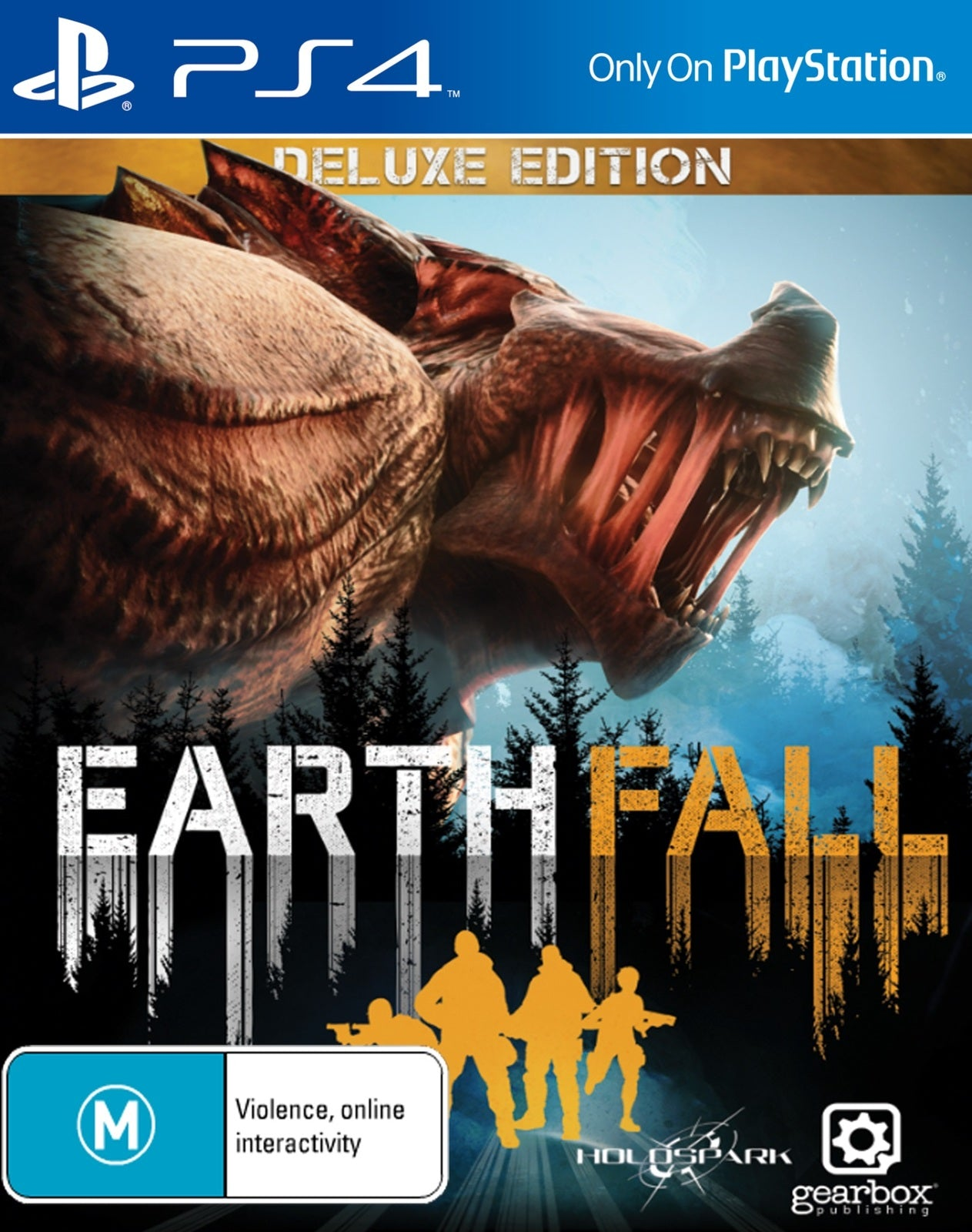 Earthfall Deluxe Edition - PS4