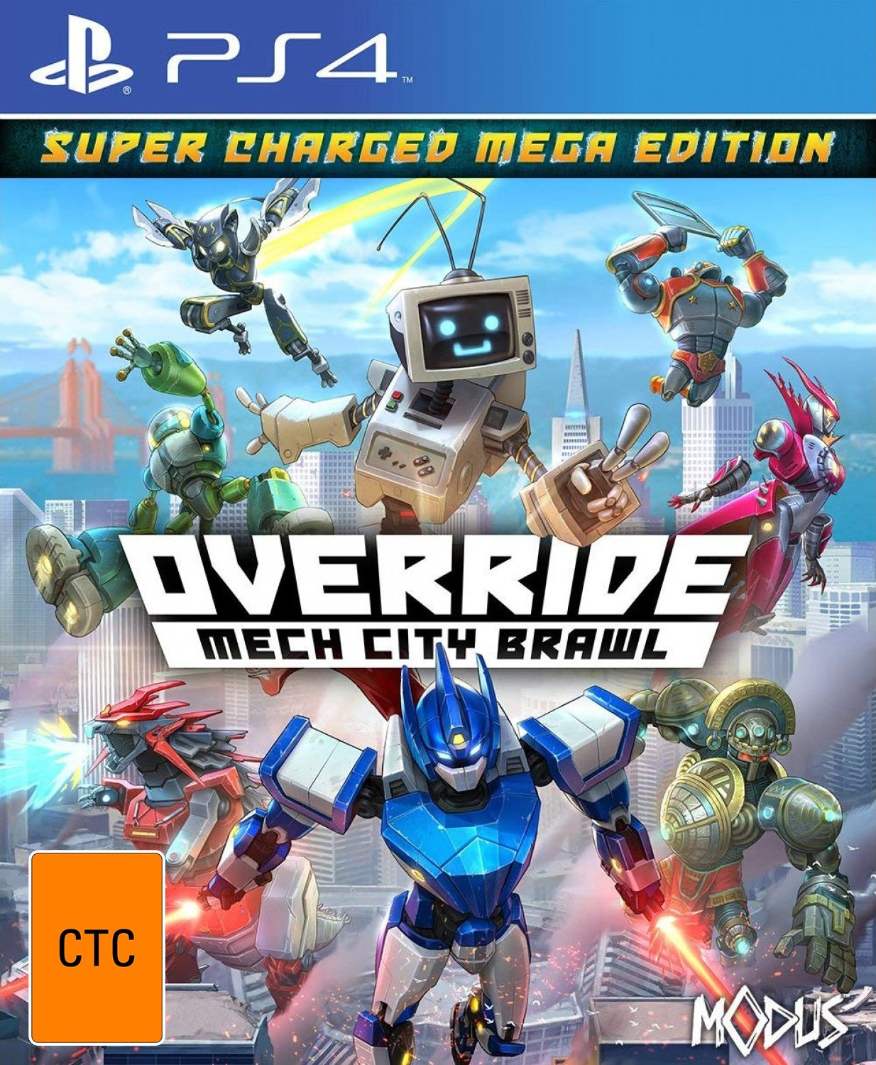 Override: Mech City Brawl - Super Charged Mega Edition - PS4