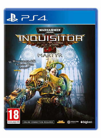 Warhammer 40,000: Inquisitor Martyr - PS4