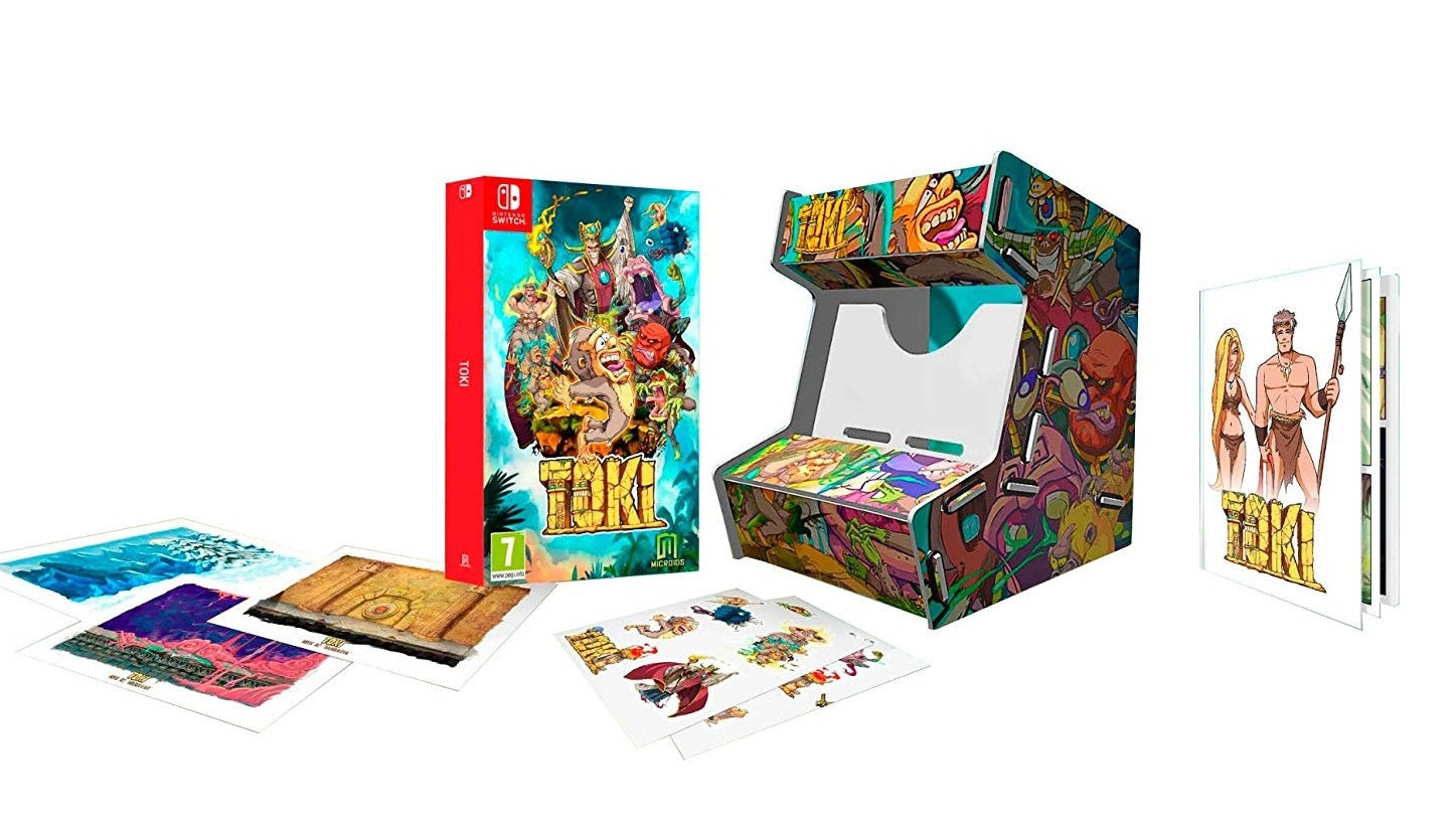 Toki Collector's Edition - Nintendo Switch