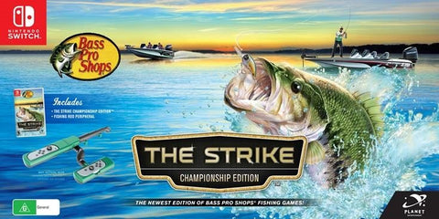 Bass Pro Shops The Strike Championship Edition bundle - Nintendo Switch