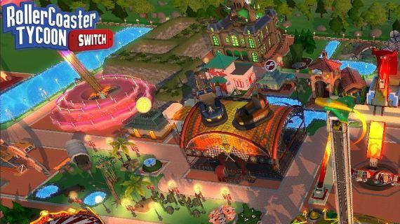 RollerCoaster Tycoon Adventure - Nintendo Switch