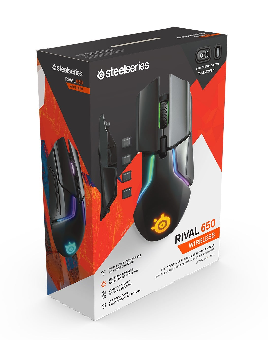 Steelseries Rival 650 Wireless Gaming Mouse - PC Games