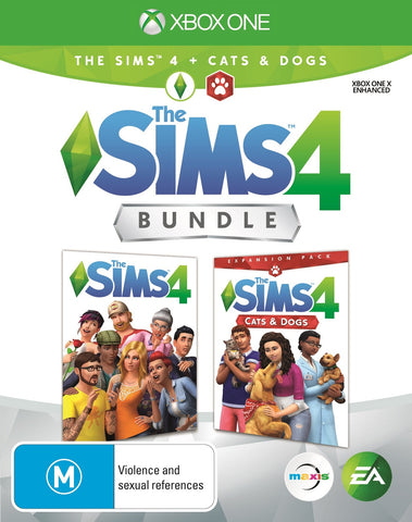 The Sims 4 plus Cats & Dogs Bundle - Xbox One