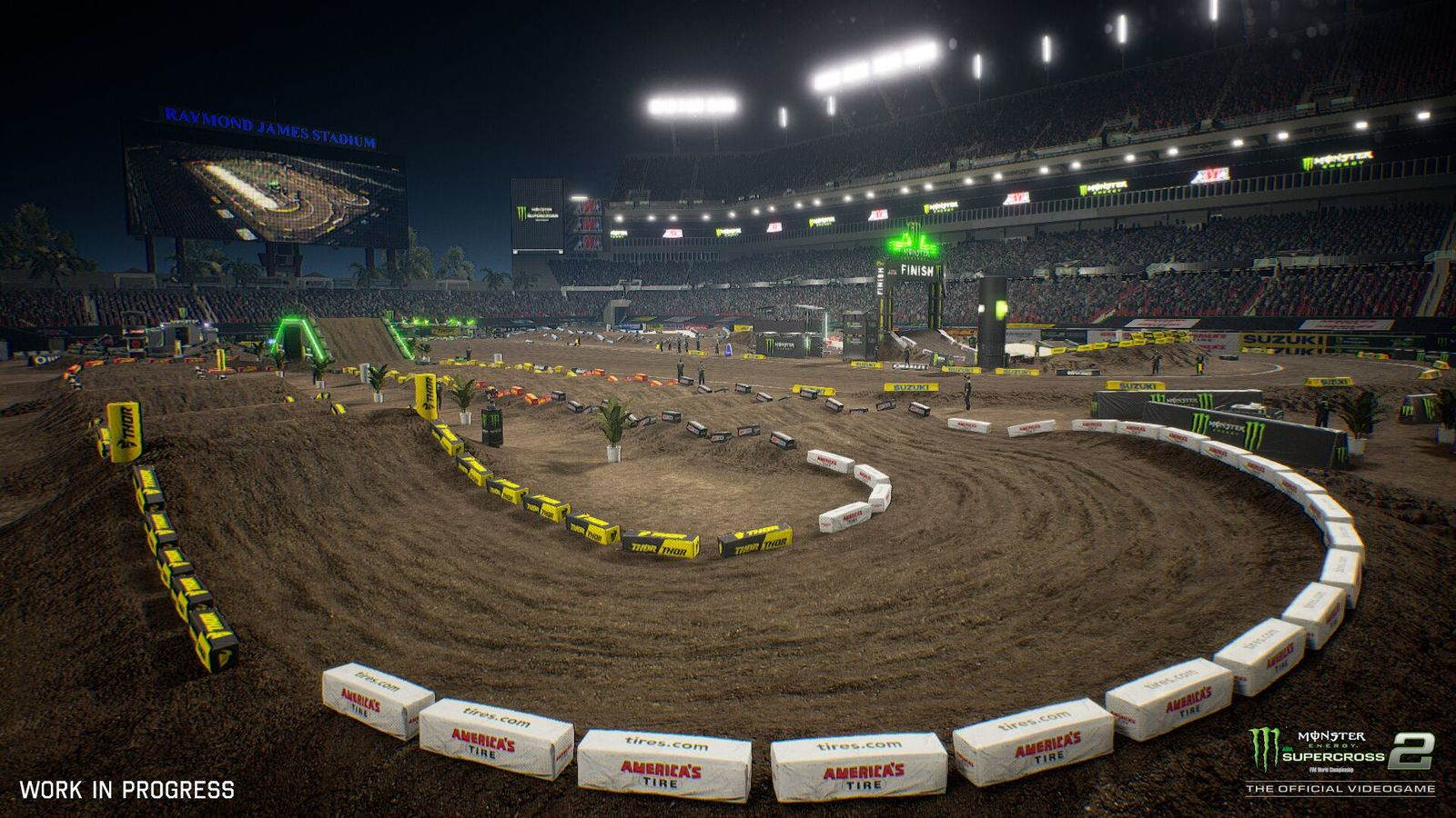 Monster Energy Supercross - The Official Videogame 2 - PS4