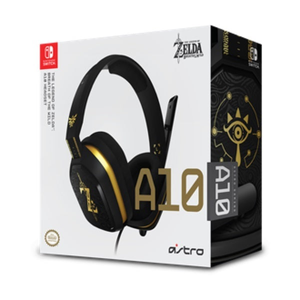 Astro A10 Wired Headset (Legend of Zelda) - Nintendo Switch