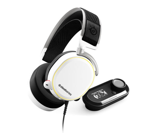 SteelSeries Arctis Pro + GameDAC Headset (White)