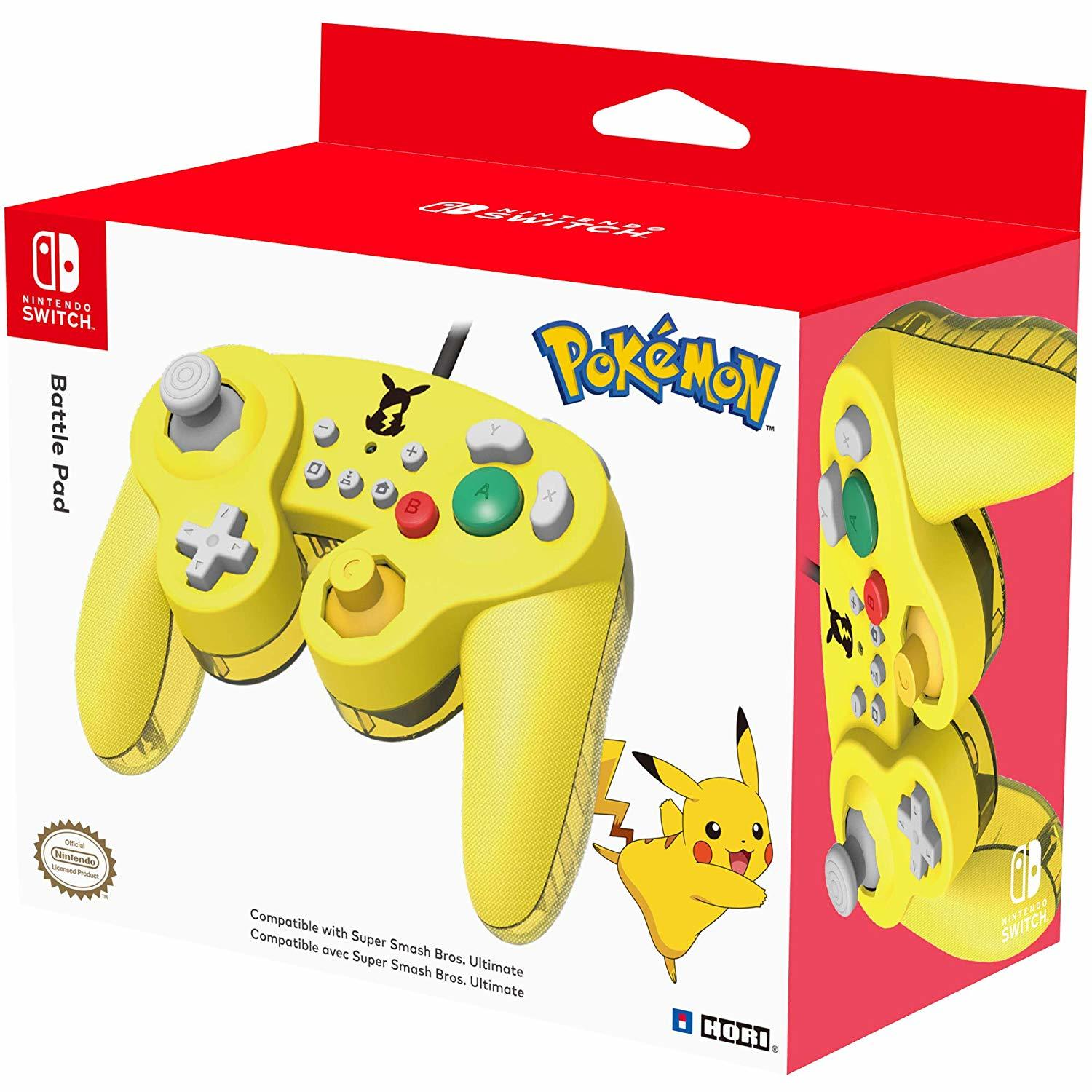 Nintendo GameCube Controller Super Smash Bros Edition (Pikachu) - Nintendo Switch