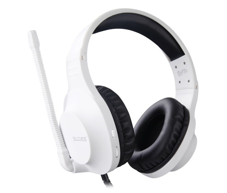 SADES Spirits Universal Gaming Headset (White) - Xbox One