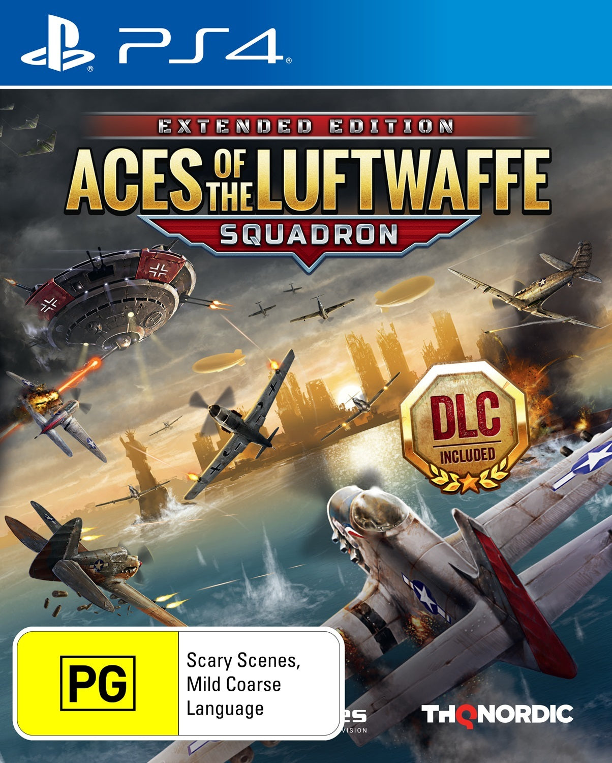 Aces of the Luftwaffe Squadron Edition - PS4