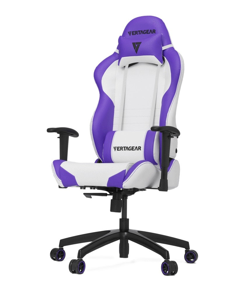 Vertagear Racing Series S-Line SL2000 Gaming Chair - White/Purple