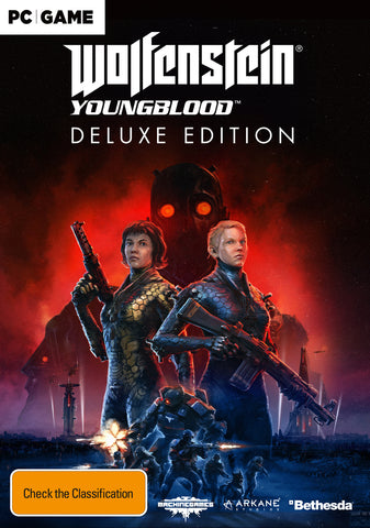 Wolfenstein Youngblood Deluxe Edition (code in box) - PC Games