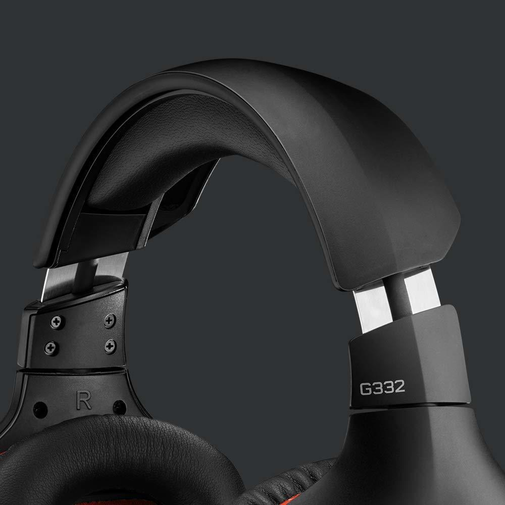 Logitech G332 Wired Gaming Headset - PC Games