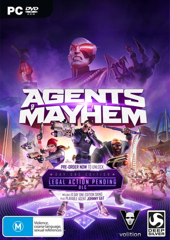 Agents of Mayhem Day 1 Edition - PC Games