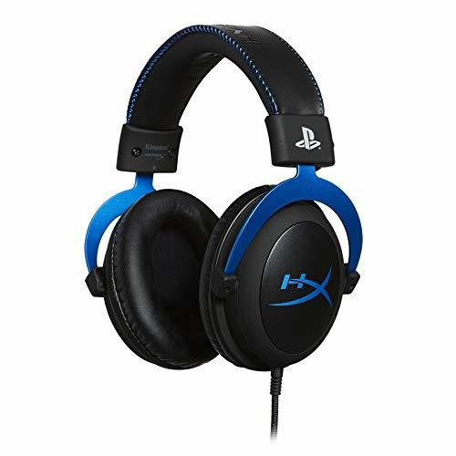 HyperX Cloud PS4 Blue Gaming Headset - PS4