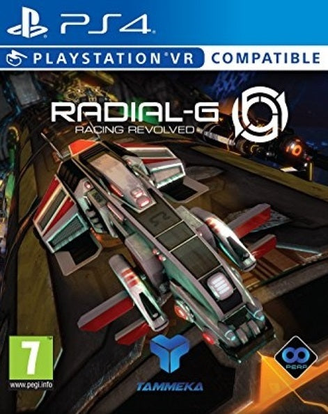 Radial G: Racing Revolved - PS4