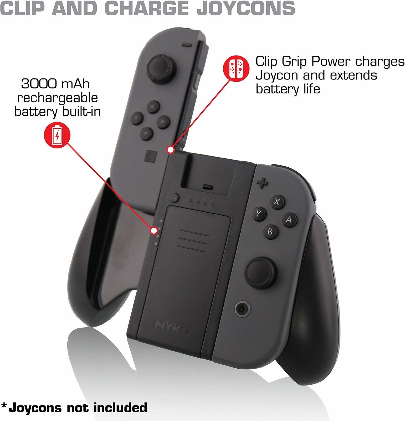 Nyko Switch Clip Grip Power - Nintendo Switch