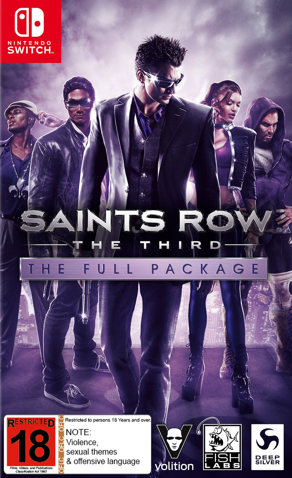 Saints Row: The Third - Nintendo Switch