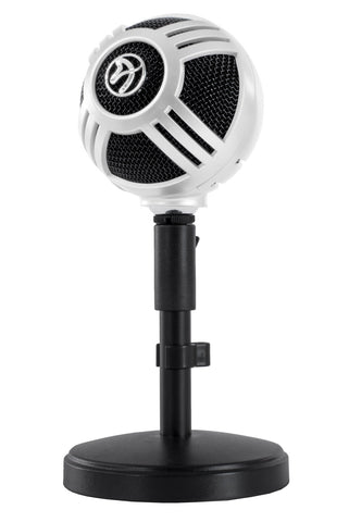 Arozzi Sfera Microphone (White) - PC Games