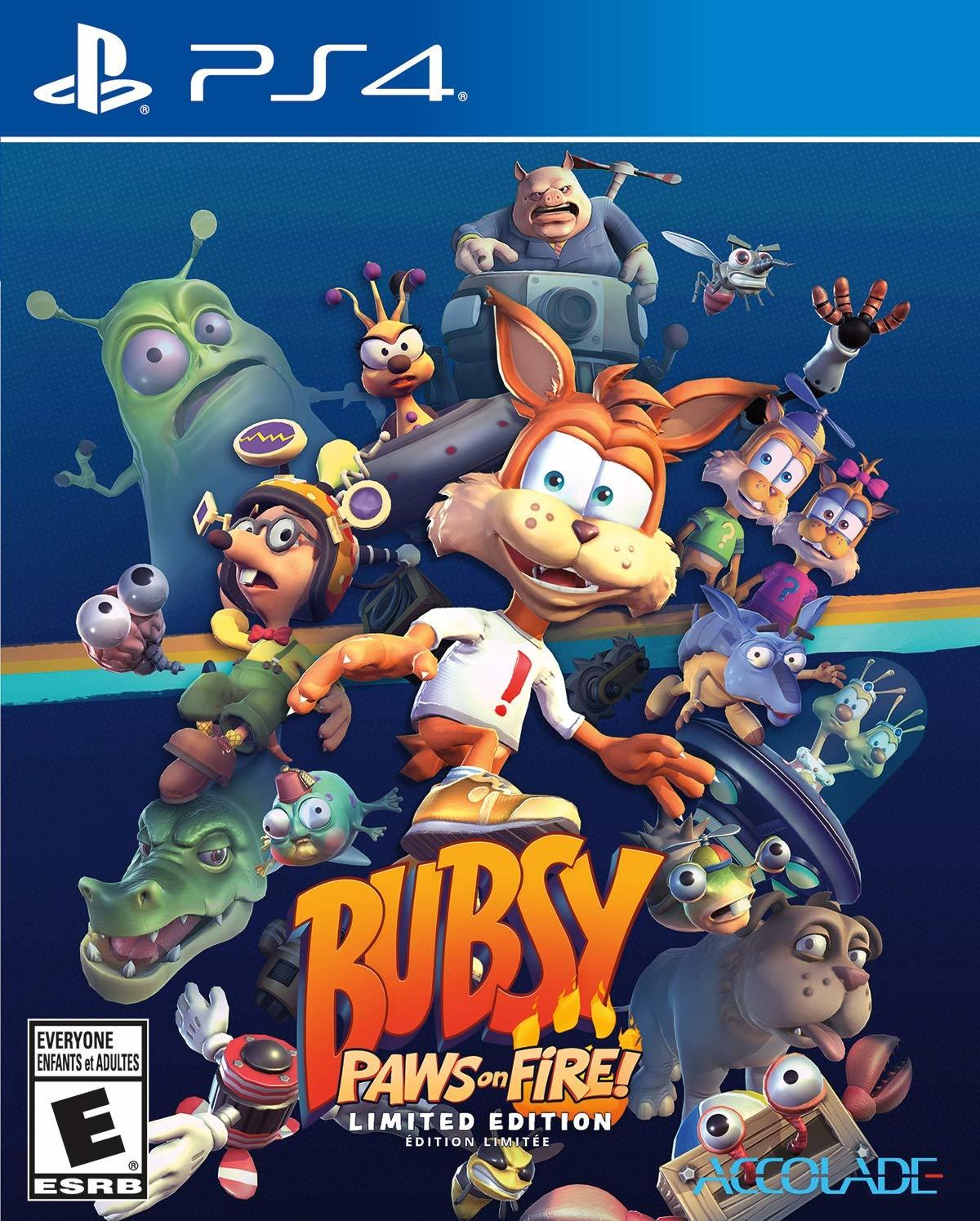Bubsy Paws on Fire! Limited Edition - PS4