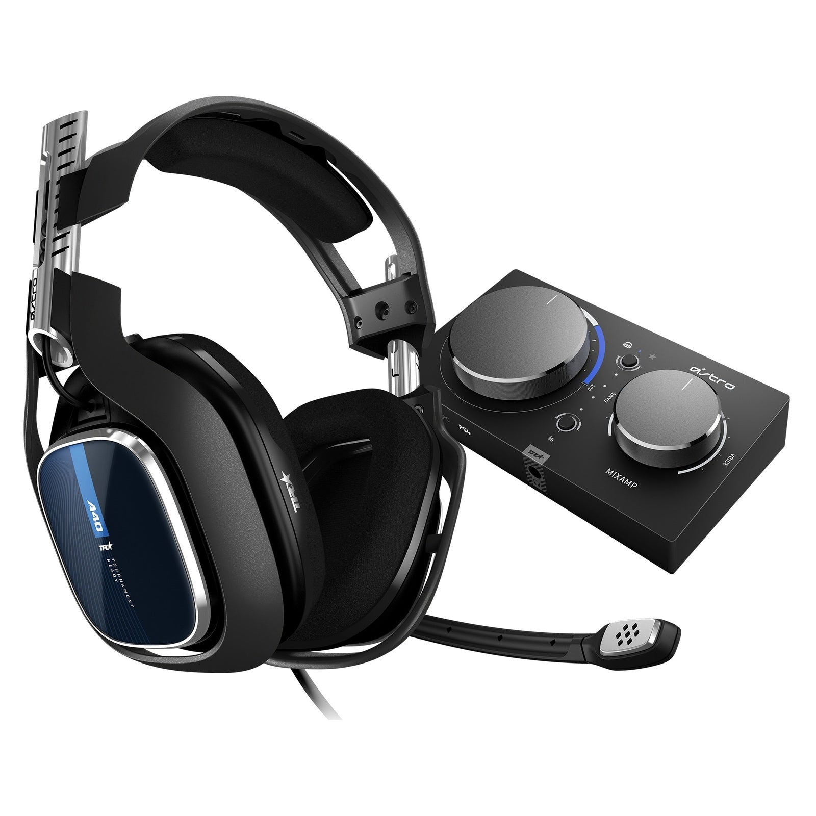 Astro A40 TR + MixAmp Pro V2 Gaming Headset (Gen 4) - PS4