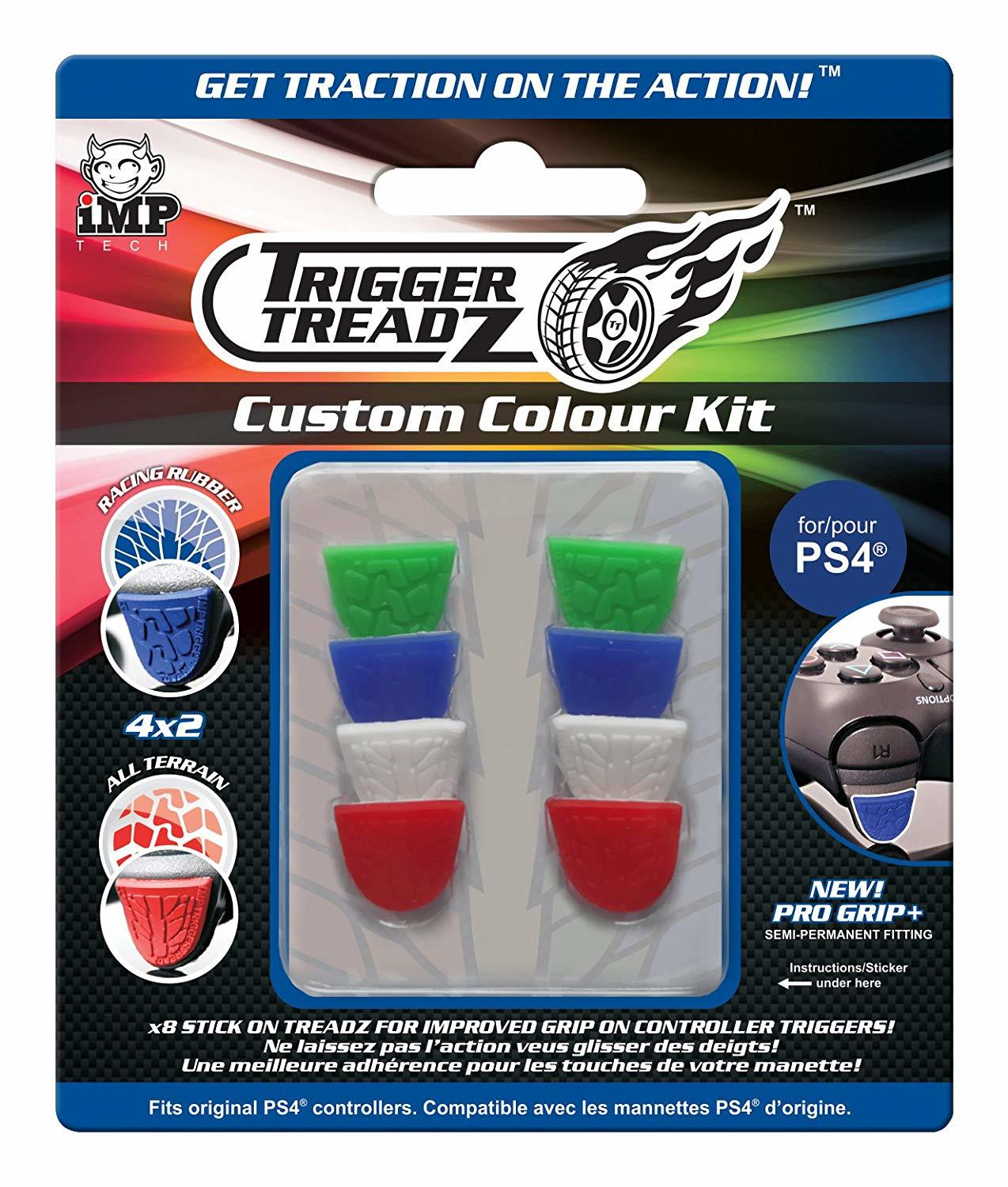 iMP Trigger Treadz Custom Colour Kit - 8 pack - PS4