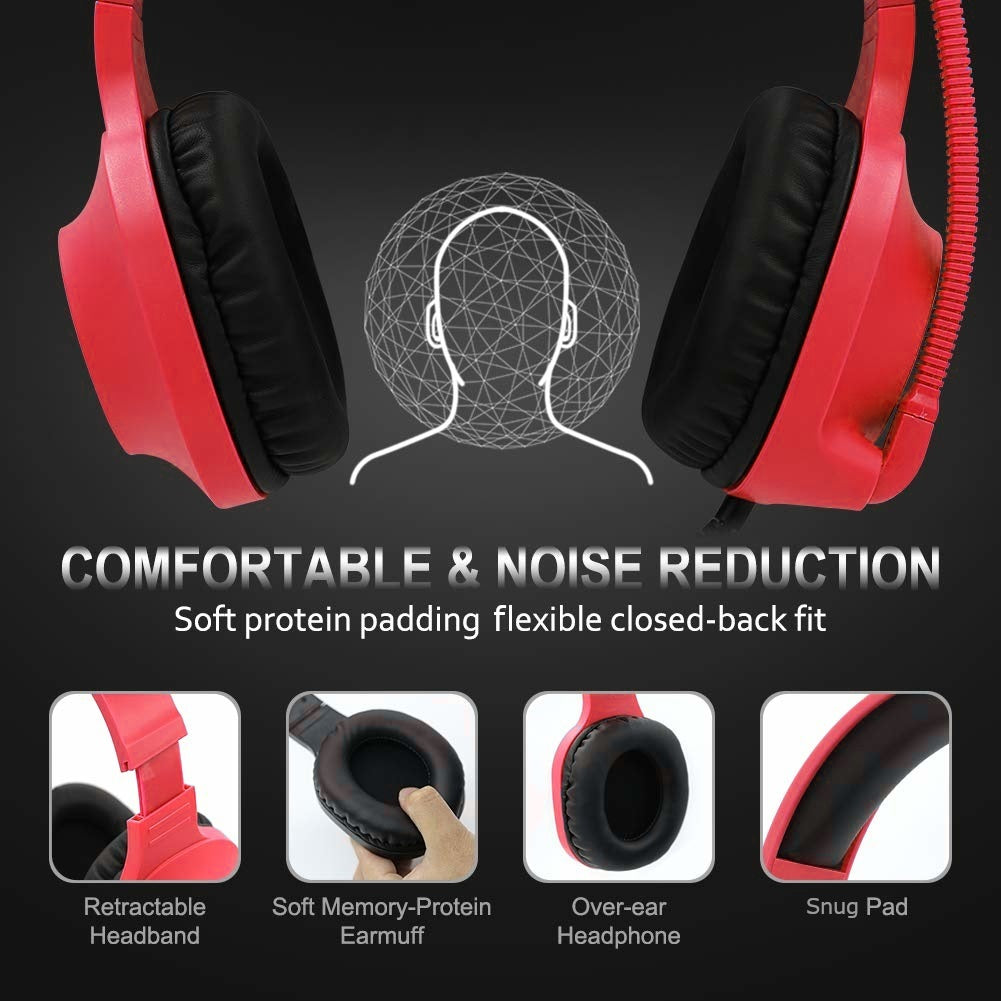 SADES Spirits Universal Gaming Headset (Red)