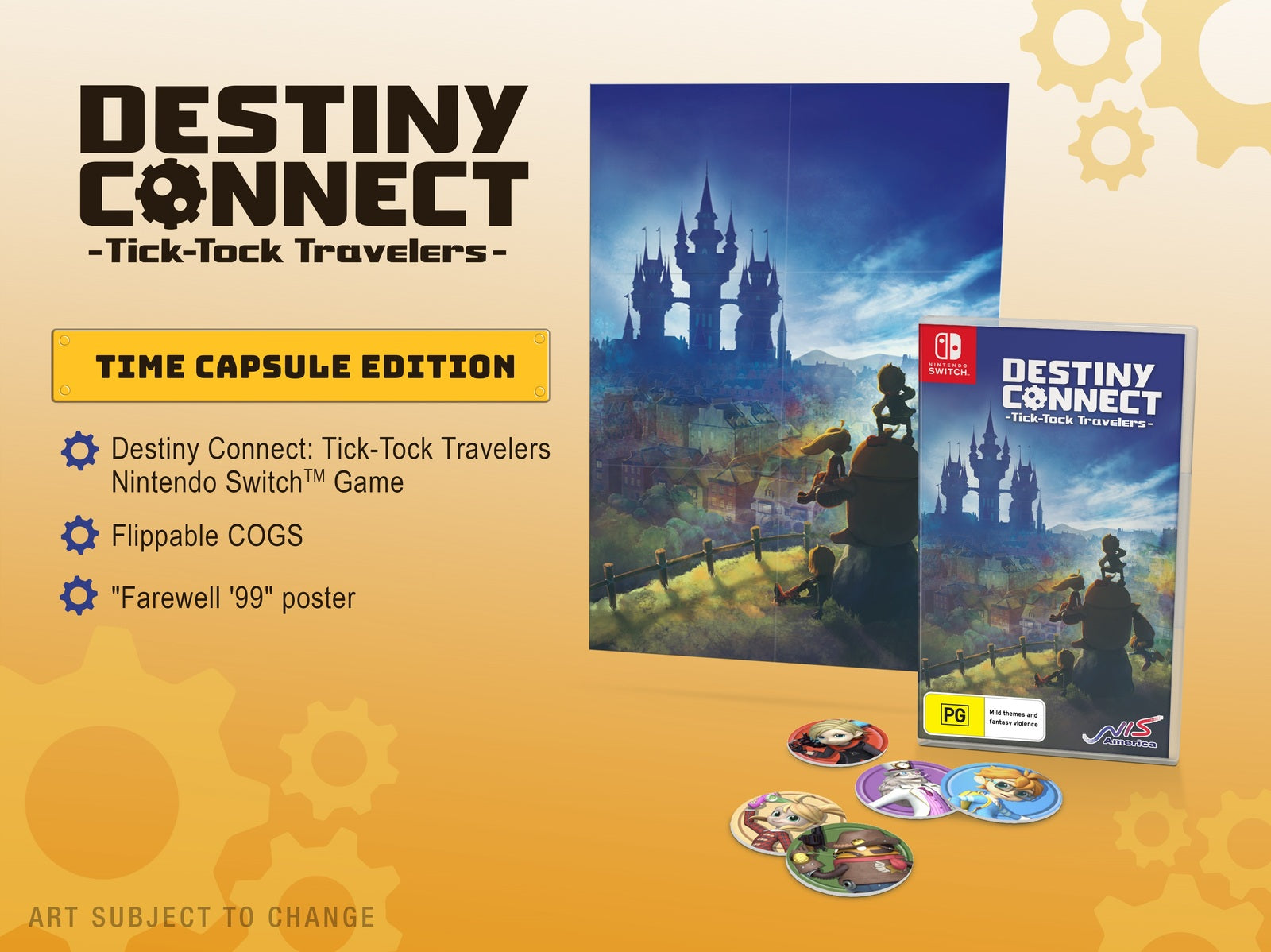 Destiny Connect: Tick-Tock Travelers Day One Edition - Nintendo Switch