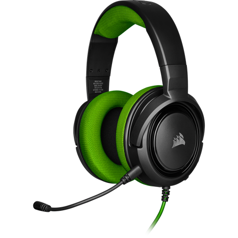 Corsair HS35 Stereo Gaming Headset (Green) - Xbox One
