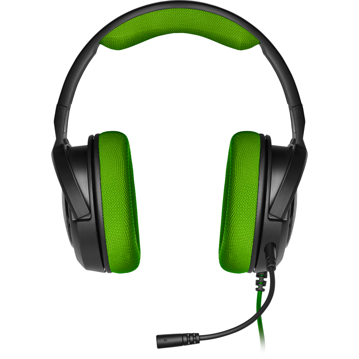 Corsair HS35 Stereo Gaming Headset (Green) - PC Games
