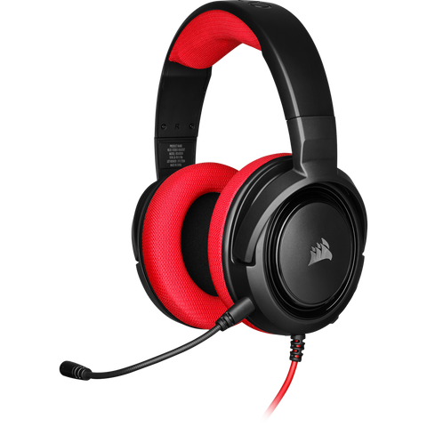 Corsair HS35 Stereo Gaming Headset (Red) - PC Games