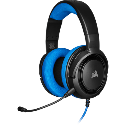 Corsair HS35 Stereo Gaming Headset (Blue) - PC Games